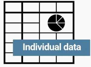Logo excel individual data (grisé)